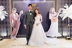 羅小白結婚前夕竟為林俊傑與老公冷戰!