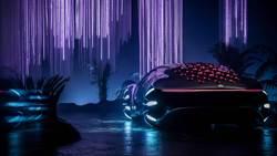 CES未來車超搶眼 賓士VISION AVTR靈感來自《阿凡達》