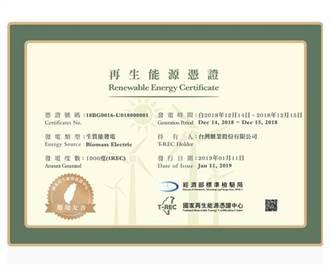台糖養豬發綠電突破10萬度 全台首家生質能綠電憑證供給者