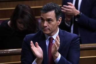 西班牙總理桑切斯微弱多數勝選 可組建新政府