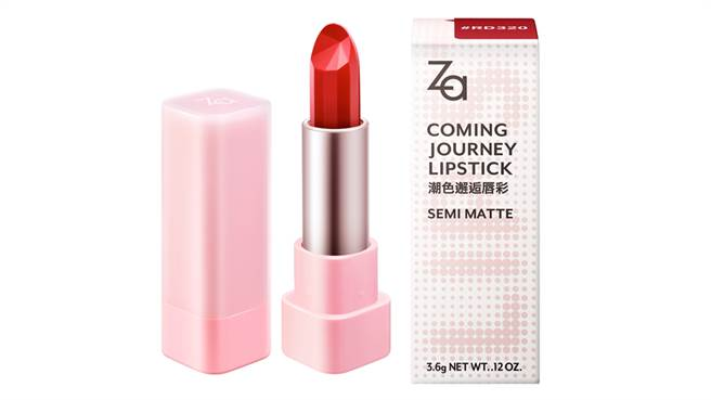 Za潮色邂逅唇彩包裝及外盒。(圖/品牌提供)