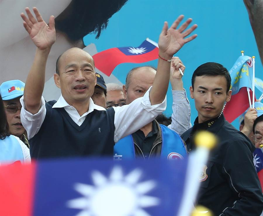 國民黨總統候選人韓國瑜。(資料照,陳怡誠攝)