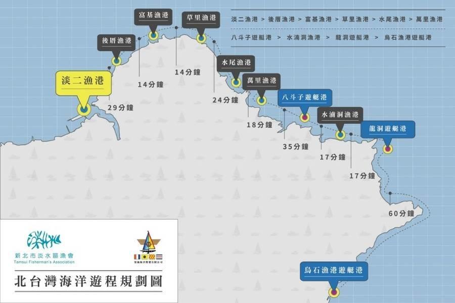 親海新動線。(圖取自新北市漁業處官網)
