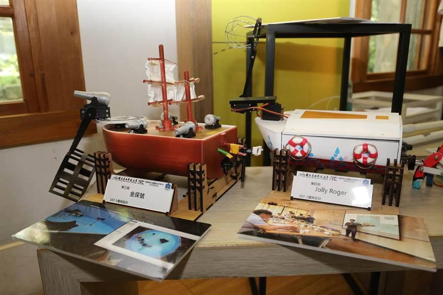 教育部今天在國立台灣博物館南門園區小白宮展演聽舉行「教學實踐研究計畫成果展」。(教育部提供/林志成台北傳真)