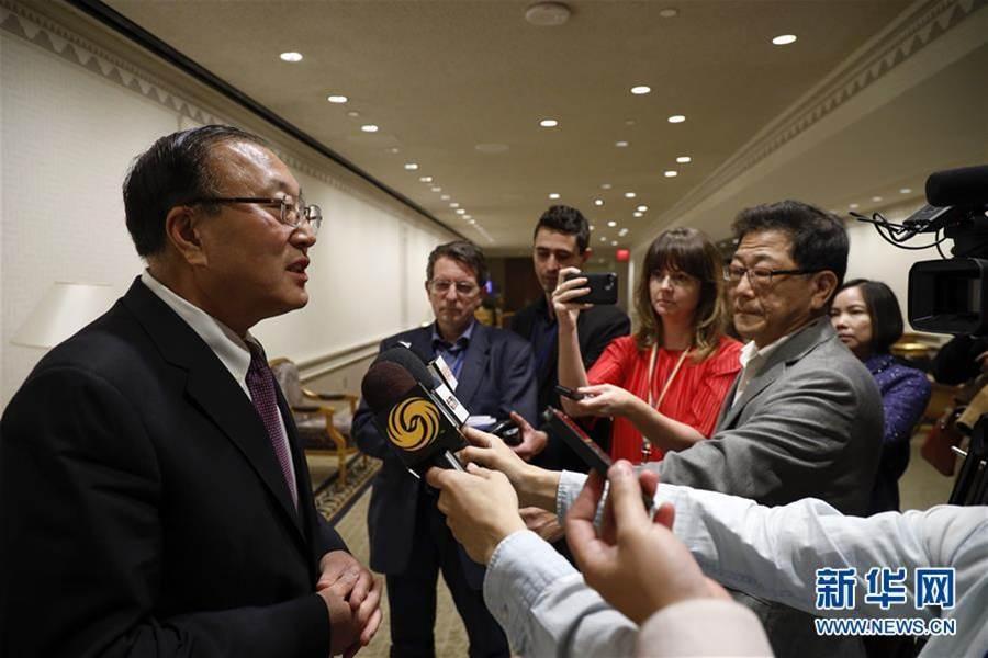 陸常駐聯合國代表張軍。(新華網)