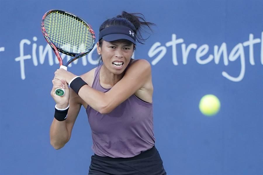 謝淑薇輕騎挺進澳網女雙4強,追平個人在墨爾本的最佳成績。(美聯社資料照)