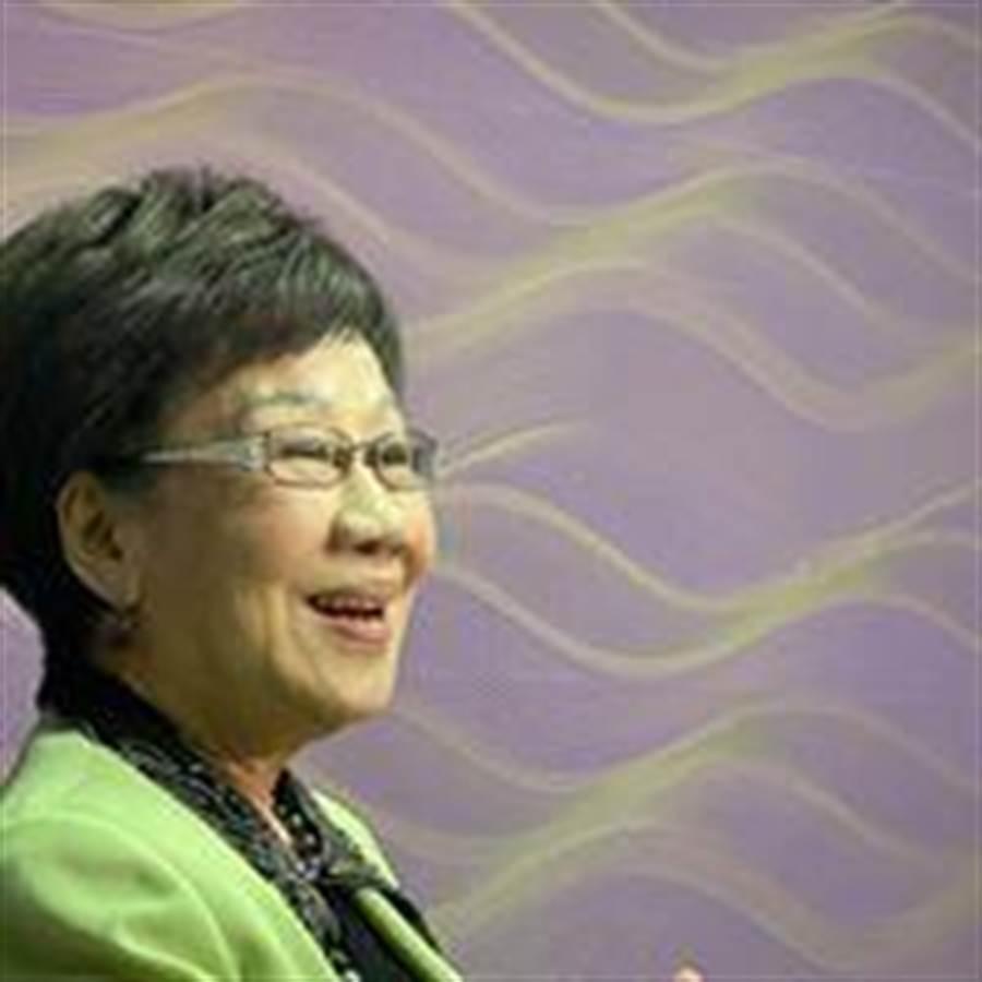 呂秀蓮:世界情勢險峻,台灣選舉只看到網軍濫用假新聞不見候選人政策。照片摘自呂秀蓮臉書