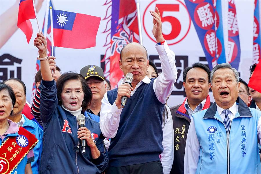 韓國瑜宜蘭造勢 批民進黨價值消失 變成愛錢、愛權、愛自己
