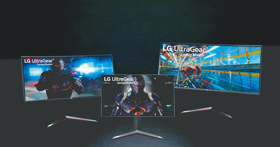 LG在今年的CES上月推出了最新一代「Ultra」系列顯示器,UltraFine、UltraGear及UltraWide同獲CES創新大獎。(LG提供)