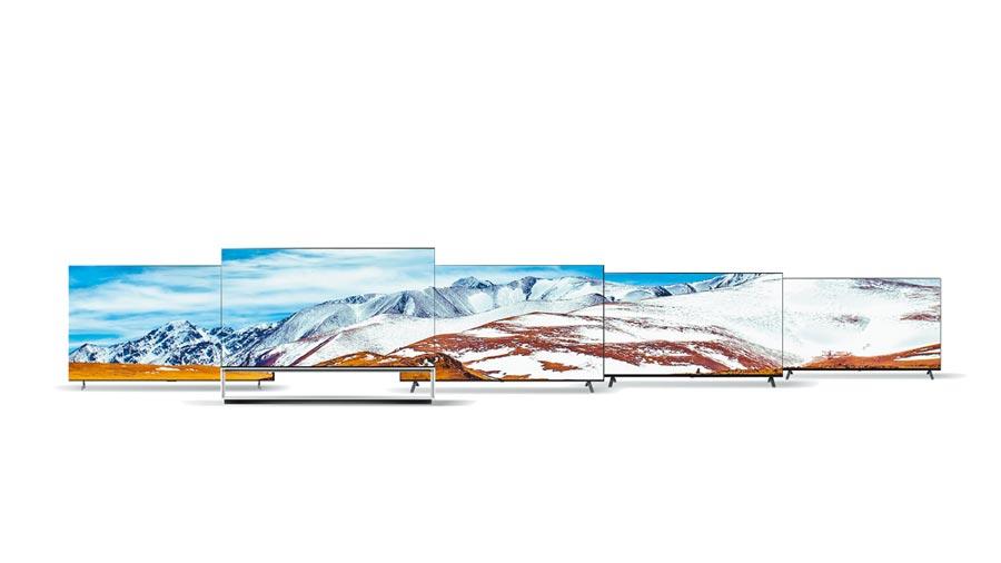 LG於CES 2020上推出全新真8K電視系列LG SIGNATURE OLED 8K TV,搭載了新一代的AI影像處理器,同時更推出了進階版一奈米電視LG NanoCell TV 。(LG提供)