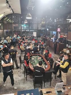 台中男開3家賭場餐廳年賺上億 金主幹部46人起訴
