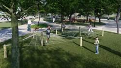 提升遊憩品質  大甲鐵砧山雕塑公園二期工程施工分區封閉