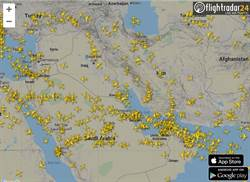 怕遭波及! 各國航班繞開兩伊領空