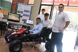 高科大機電工程專題發表超吸睛 電動卡丁車滿場跑