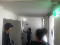 善化員警全副武裝 護送選票至區公所