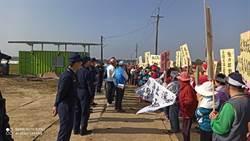 拒絕養雞場進駐 台南白河居民怒吼