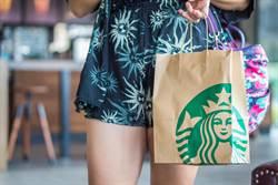 星巴克正妹等一個人咖啡 側面看超犯規