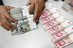 陸上月外匯存底 大增123億美元