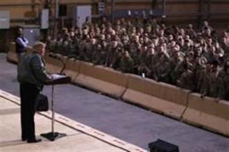 美國駐伊拉克阿薩德基地規模之大,猶如美國小鎮