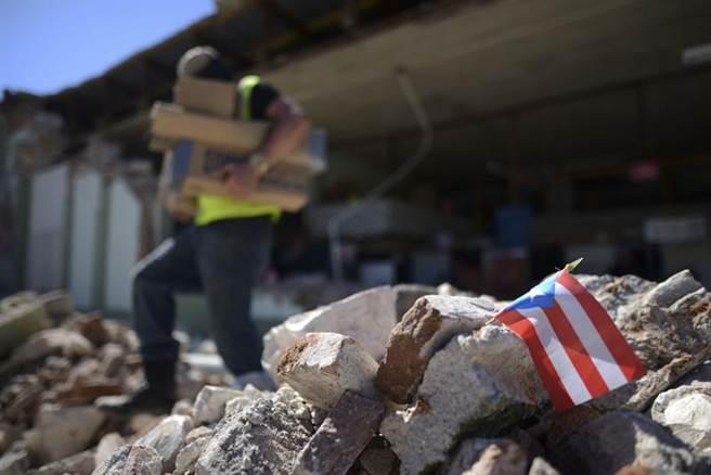 波多黎各102年來最嚴重地震 總督宣布緊急狀態。(圖/美聯社)