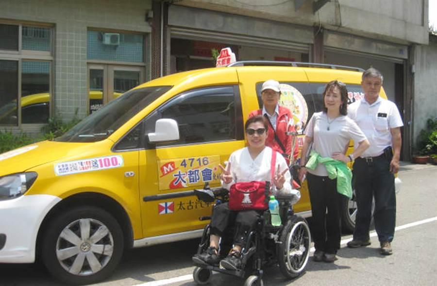 交通局補助業者包括台灣大車隊、國通車隊、中華大車隊,購置共30輛通用計程車,將於今年6月底前上路。(台中市政府交通局提供/陳世宗台中傳真)