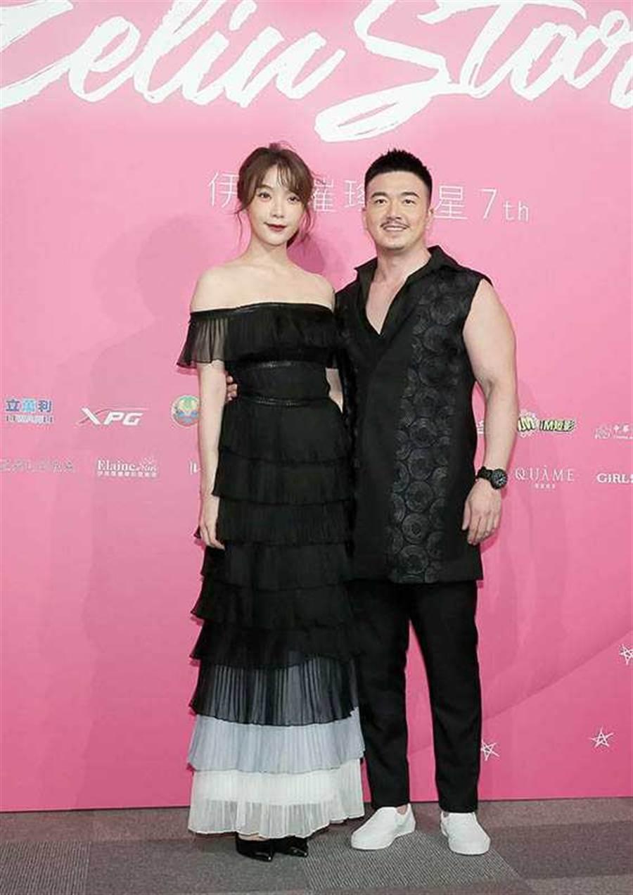 每年伊林娛樂的活動,蔡淑臻和李沛旭都會連袂出席,兩人也年年被媒體追問何時結婚。(圖/報系資料庫)