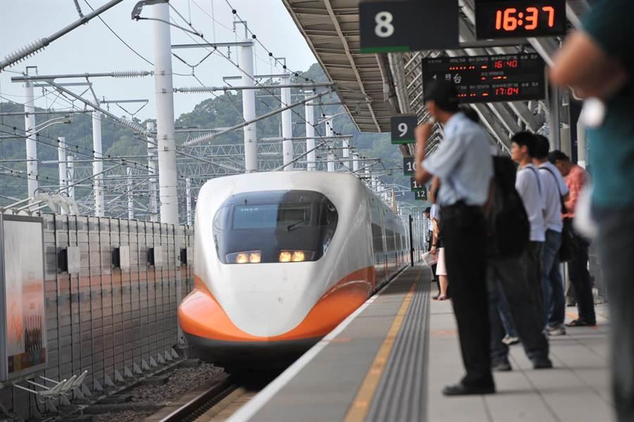 高鐵在燈會期間,加開8班加班車。(台灣高鐵公司提供/陳祐誠傳真)