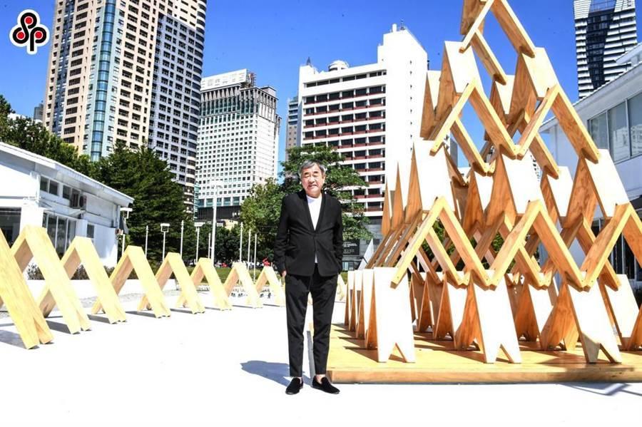 日本知名建築師隈研吾。(本報資料照)