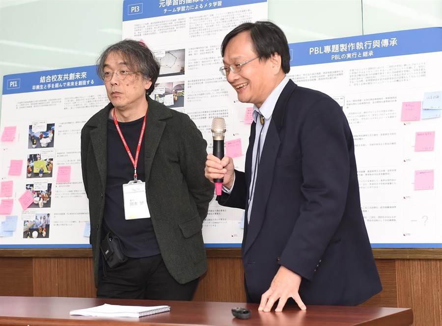 台日大學交流合作,共創跨國、跨領域競爭力。(陳世宗攝)
