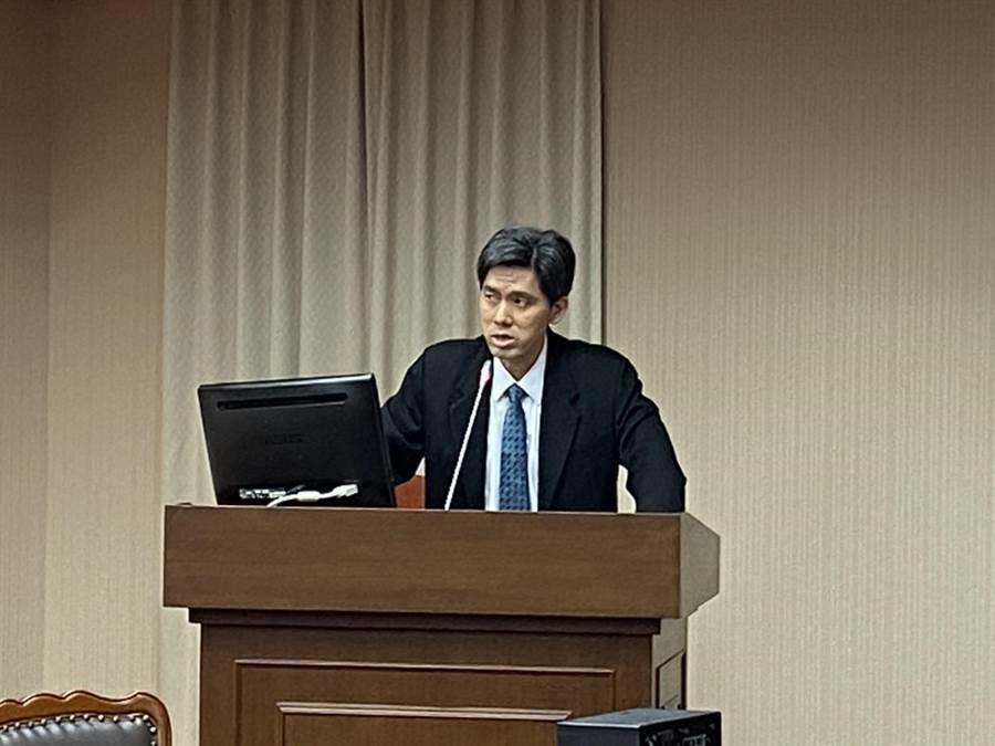 台灣大學政治系教授左正東(圖/蔡宗霖攝)