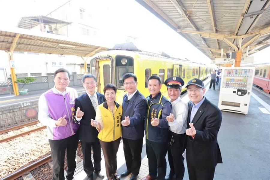 交通部長林佳龍今(8)日宣布,將興建台鐵田中支線,整合日月潭周邊的觀光景點,打造台灣第一條觀光鐵道。(圖/台鐵局提供)