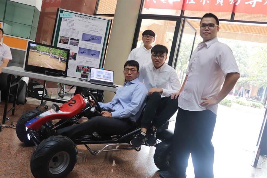 國立高雄科技大學機電工程系期末舉辦「實務專題成果發表」。(高科大提供)