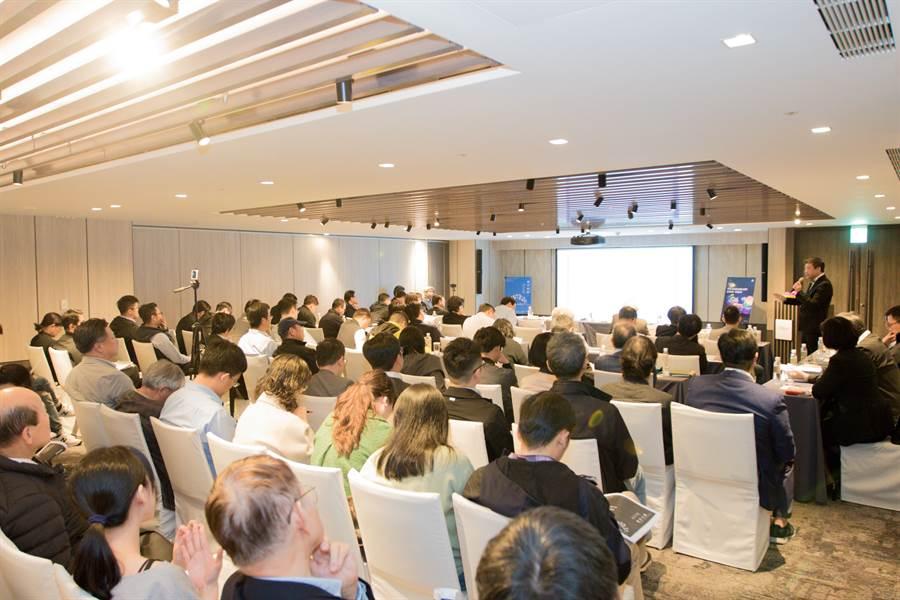 台中巨蛋今日在台北招商,有47家企業參與盛會。(台中市政府提供/廖德修台北傳真)