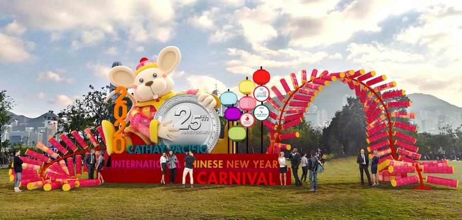 香港新春國際匯演在西九文化區舉辦。(香港旅遊發展局提供)
