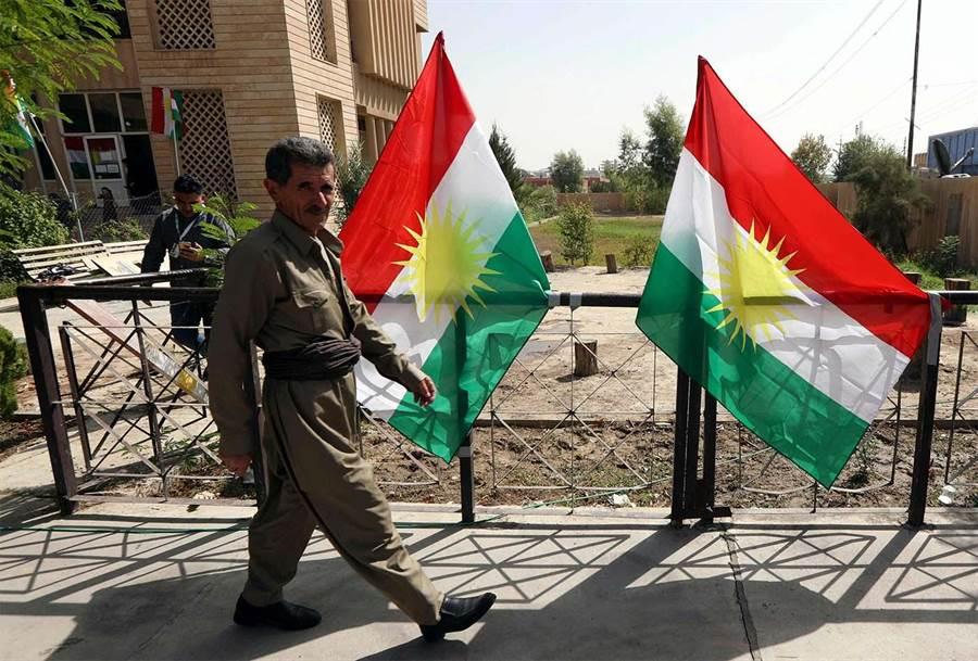 伊拉克庫德人擔心美國與伊朗、伊拉克衝突,會波及到庫德自治區。(圖/美聯社)