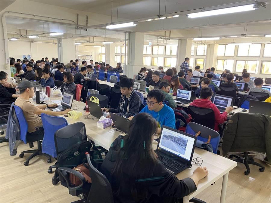 Linker Networks台南辦公室已進駐150位員工。(台南市研考會提供/曹婷婷台南傳真)