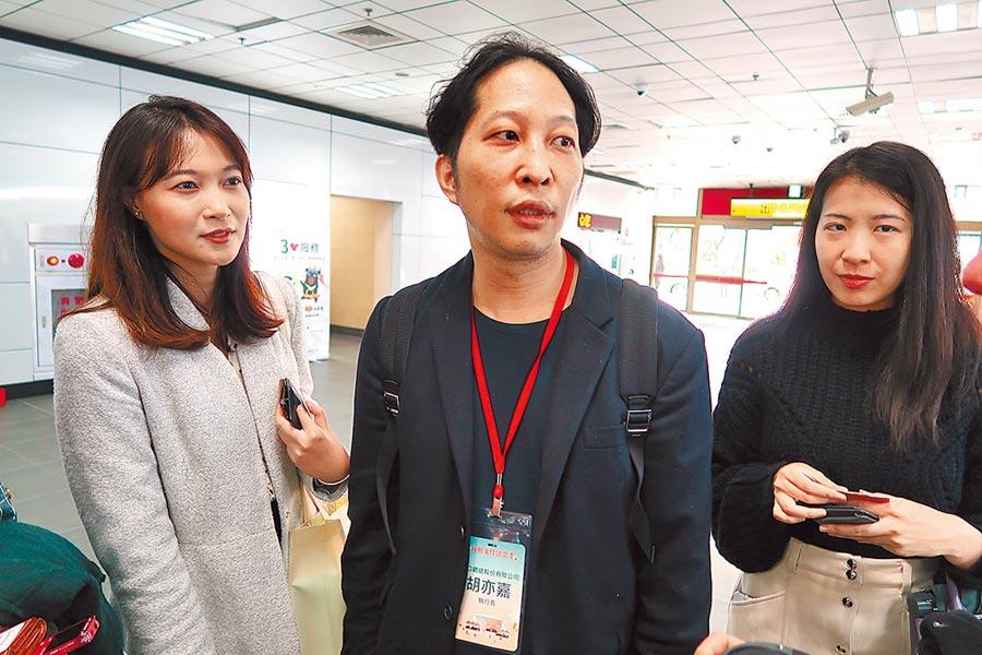 「街口支付」執行長胡亦嘉。(報系資料照片)
