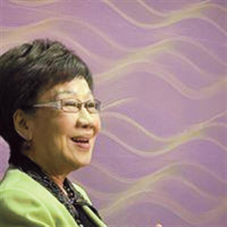 反滲透法強行通過,呂秀蓮:民進黨黨國威權已經復辟。(摘自呂秀蓮臉書)