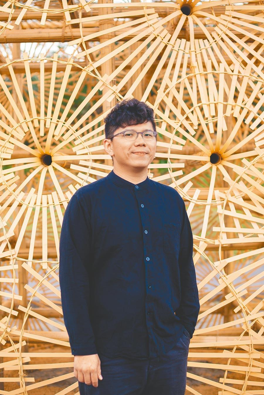 林靖格期許台灣的竹工藝設計說自己的故事,讓國際看見台灣。(林靖格提供/李怡芸台北傳真)