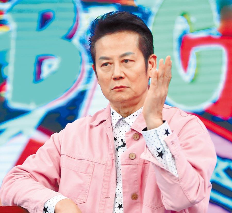 徐乃麟昨主持《天才衝衝衝》。(華視提供)