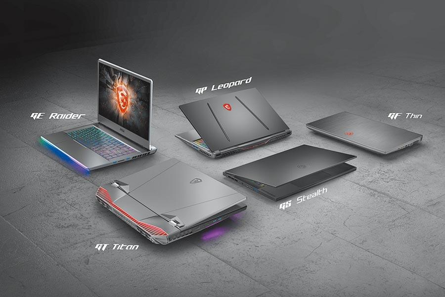 3.MSI在CES 2020上推出2款旗艦電競筆電GE66 Raider與GS66 Stealth,以及榮獲CES創新大獎肯定的全系列高階產品。(MSI提供)