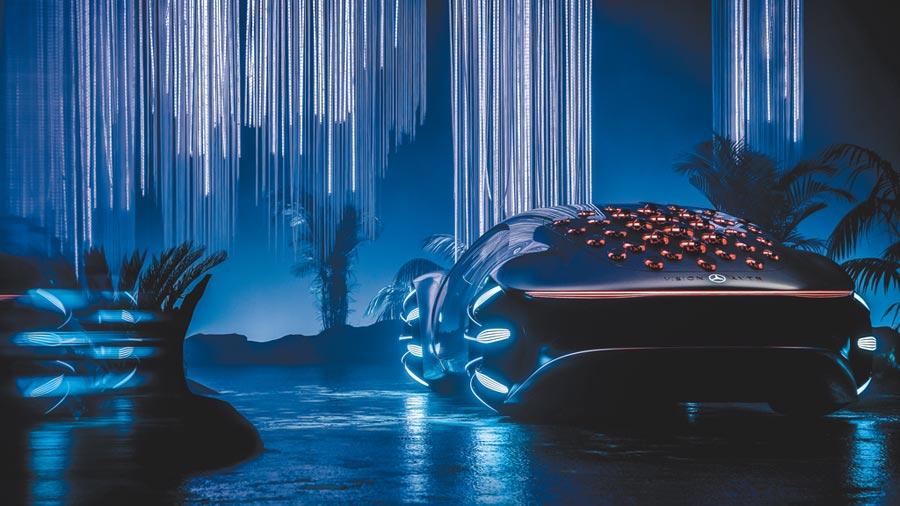 Mercedes-Benz發表VISION AVTR,靈感源自電影《阿凡達》。(Mercedes-Benz提供)