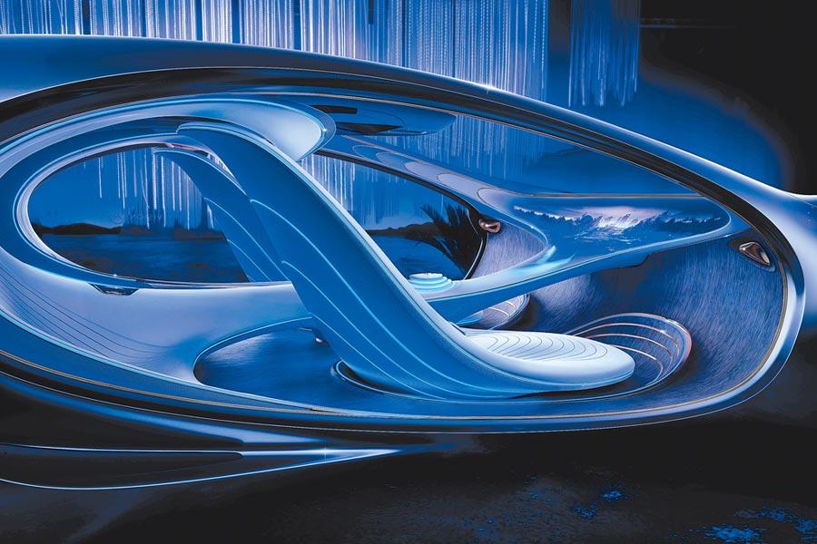 2.全新座艙設計,並大量採用環保材質。(Mercedes-Benz提供)