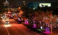 台灣燈會「一軸四橋」點亮台灣大道  這裡成打卡熱點