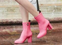 雨天也能很時尚 LV把經典鞋款變雨鞋