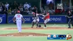 觸身球爆發衝突 前大聯盟選手竟拿球棒打人