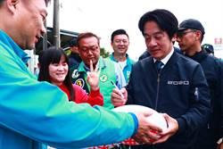 賴清德陪蘇震清掃街 香港大學生也來圍觀採訪