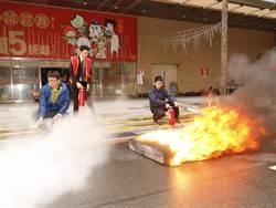 安心過好年!新北消防舉辦搶救演練