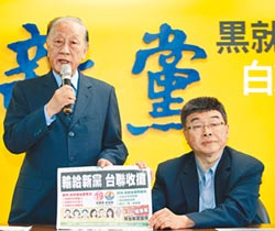 堅持理想有戰鬥力 台聯最怕 政黨票投新黨 泛藍席次不減反增