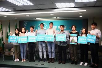 民進黨力催年輕人回家投票:3張選票三振親中政黨